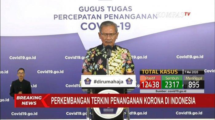 BREAKING NEWS: Pasien Positif Corona 12.776 Orang Per 7 Mei 2020, 930 Meninggal, 2.381 Sembuh