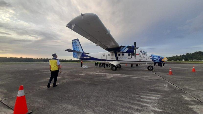 Dapat Subsidi 30 Miliar Harga Tiket Penerbangan Perintis Di Maluku Bakal Murah Tribun Ambon