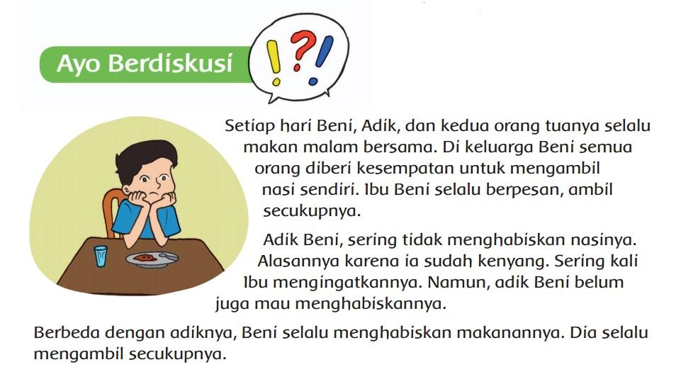Berikut soal dan kunci jawaban Buku Tematik Tema 3 Kelas 4 SD, Subtema 1, Pembelajaran 1, halaman 7, 8, 9, 10