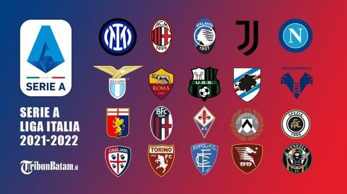 Serie A Liga Italia  Diikuti 20 Tim, Akan Dimulai 22 Agustus 2021