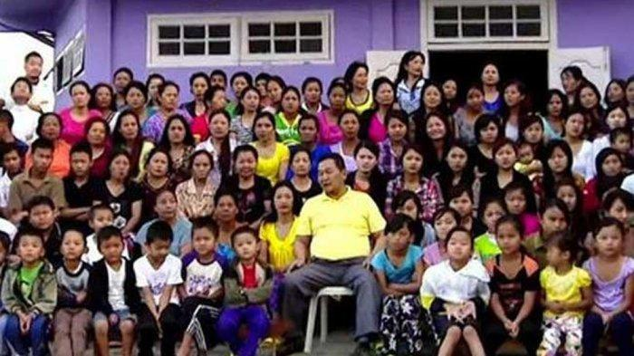 Ziona Chana, Si Pria Perkasa yang Punya 39 Istri dan 94 Anak, Meninggal Dunia di Usia 76 Tahun