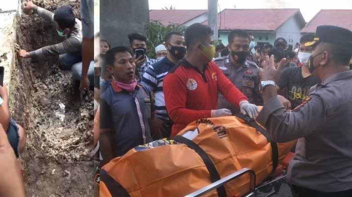 Suami Habisi Nyawa Istri Hamil 7 Bulan, Mayat Ditemukan di Bekas Galian Septic Tank