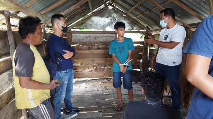 Polisi Grebek Base Camp Narkoba di Muaro Jambi, Petugas Menyamar dan Ada 8 Orang Diamankan