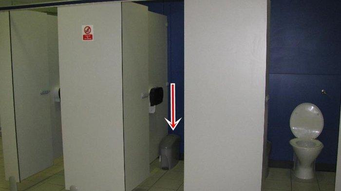 Kilatan Sinar Dalam Keranjang Sampah, Ulah Penjaga Minimarket Pasang HP, Rekam Orang Buang Air Kecil