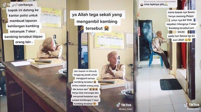 Nasib Naas Kakek di Muba, 7 Ekor Kambing Titipan Hilang, Disuruh Ganti Jadi Viral di Media Sosial
