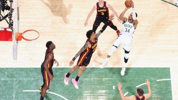 Final Playoff NBA Wilayah Timur, Game Ke 3 Tanding Bucks vs Hawks, Tolak Ukur Pelatih Atur Strategi