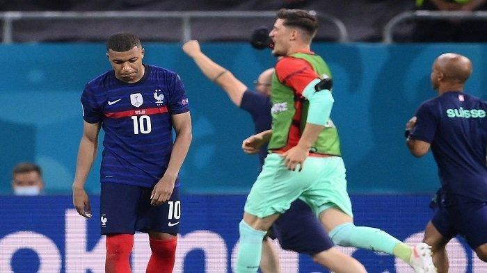 Swiss Melaju ke Perempat Final Euro 2020, Berakhir Adu Penalti Lawan Prancis