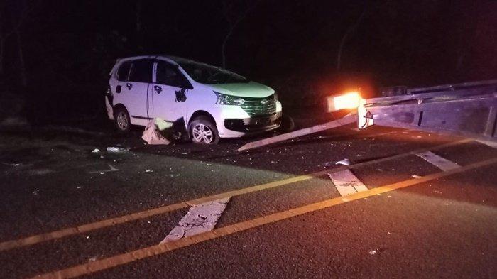 Kecelakaan Maut di Jalan Pantai Kembang Kemilau Koba, Xenia Pecah Ban Vs NMax, 1 Tewas, Ini Fotonya