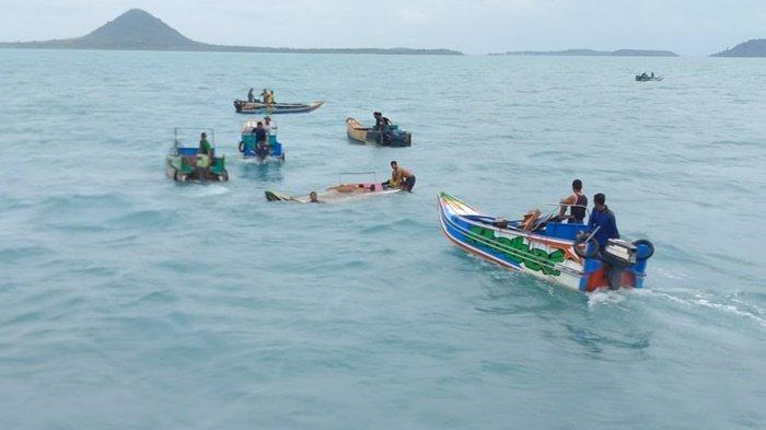 Speedboat Rute Sadai-Lepar Pongok Bangka Selatan Kecelakaan, Bocah 3 Tahun Hilang, Ini Foto-fotonya
