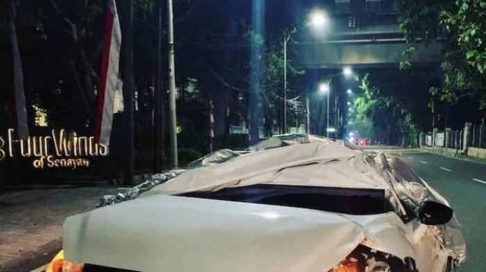 Fortuner Berplat Dinas Polisi Ugal-Ugalan, Dikejar Malah Lawan Arah, Dua Mobil Ditabrak Lalu Kabur