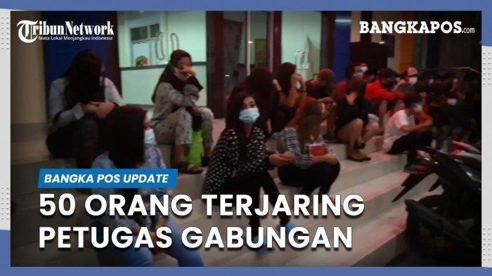 Patroli KRYD dan Prostitusi Jaring Puluhan Orang, Mensasar THM di Sudut Kota Pangkalpinang