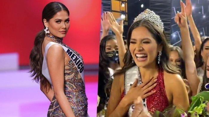 Andrea Meza, perwakilan dari Meksiko berhasil juarai Miss Universe 2020.