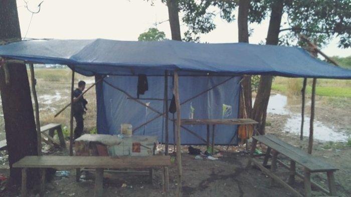 Pejudi Sabung Ayam Diamankan Polisi, Lokasi Pinggir Sungai Akses Jalan Sempit