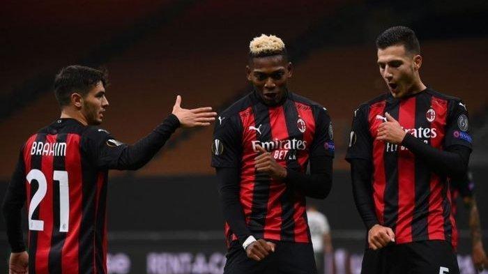 AC Milan Masih Berada Dipemuncak Klasemen, Liga Italia Serie A ke-8 Bermain Napoli vs AC Milan