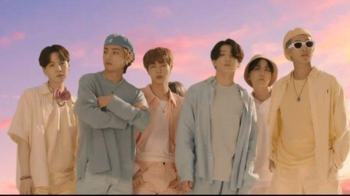 Lagu  'Dynamite'  Grup BTS, Sukses di Billboard Hot 100, Berkeinginan Ikut  Grammy Tahun Mendatang