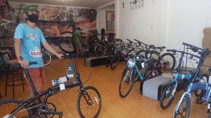 Masyarakat Ngetrend Bersepeda, Sepeda Gunung dan Balap Jadi Pilihan, Untuk Harga Tetap Stabil