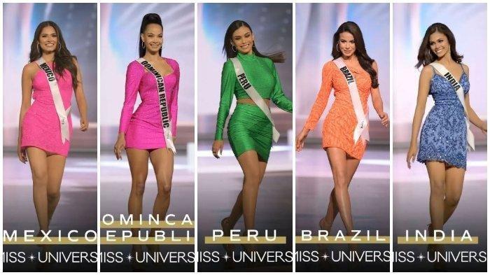 Daftar TOP 5 Miss Universe 2020: Perwakilan dari Meksiko, Republik Dominika, Peru, Brasil, dan India (Miss Universe)