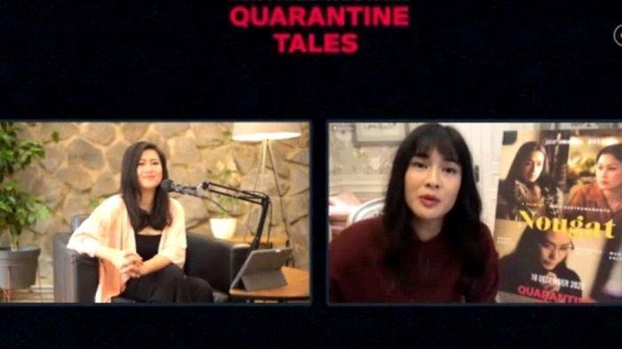Dian Sastrowardoyo Sutradara Film Quarantine Tales, Dapat Dukungan Dari Tim Produksi