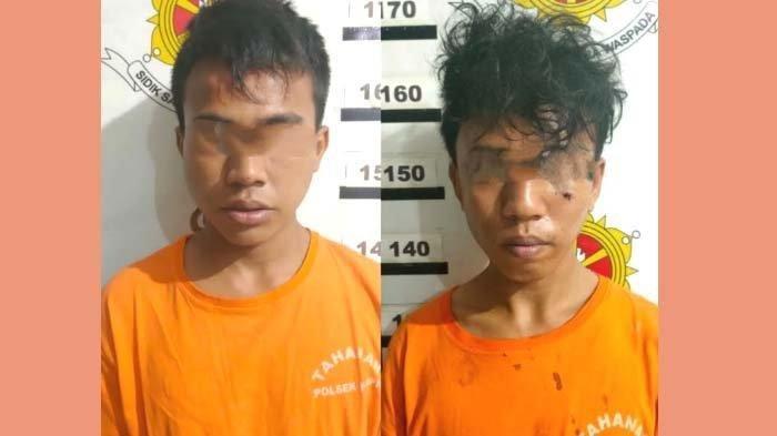 Dua Resedivis Kasus Curas, Rampas Tas Korban Kendarai Motor, Pelaku Diamankan Patroli Kring Serse