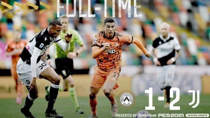 Raih Kemenangan 2-1 Atas Udinese, Juventus Kembali Ke Zona Liga Champions