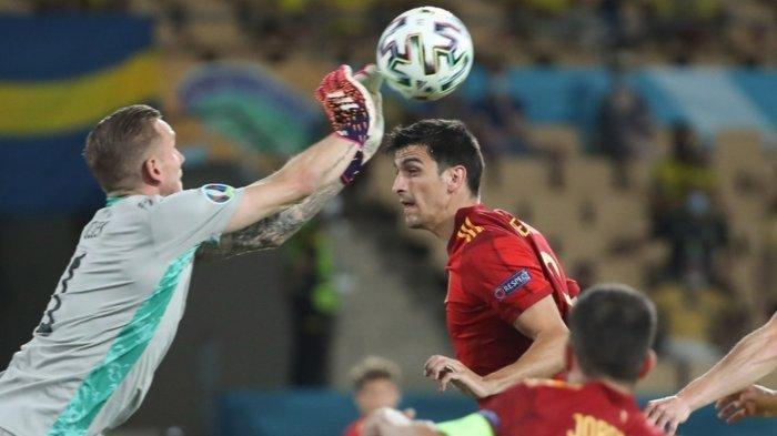 Dua Tim Laga Tanpa Gol di Grup E, Timnas Spanyol Lawan Swedia Skor 0-0