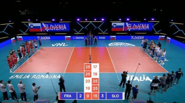 Matchday 8 Volleyball Nations League 2021, Serbia Tundukan Iran Dalam 5 Set Pertandingan