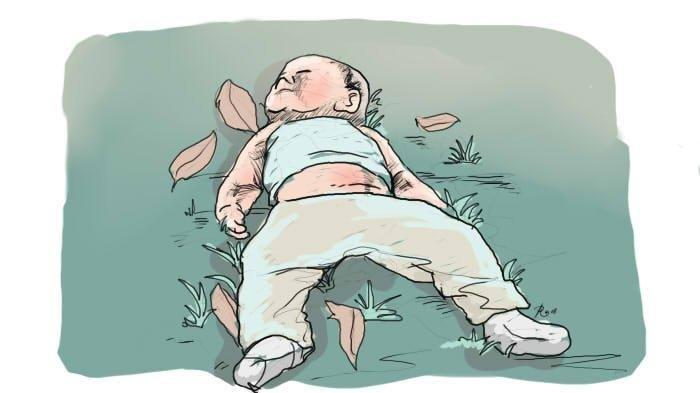Ada Mayat Bayi Ditumpukan Sampah, Tali Ari-ari Masih Menempel