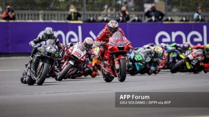 FP1 MotoGP Italia Maverick Pimpin Lintasan, Dibayang-bayangi Marquez dan Valentino Rossi