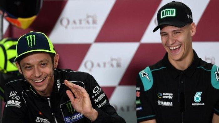 Seri Kelima Balapan MotoGP Di Lemans Prancis, Begini Pesan Valentino Untuk Quartararo