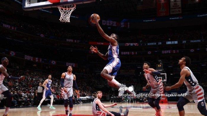 Wizards Menang Atas Philadelphia Skor 122-114, Game Keempat Basket NBA