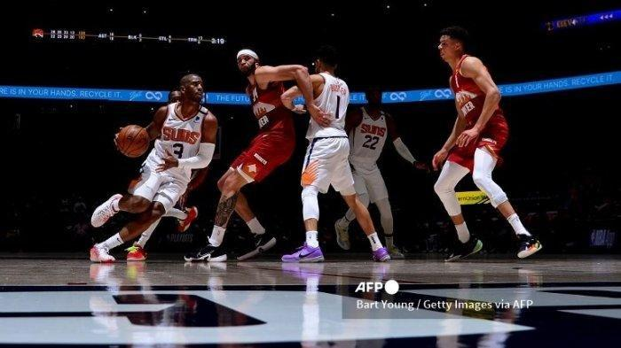 Phoenix Suns Jawara NBA 2021 Wilayah Barat, Menang Atas LA Clippers Skor 120-114