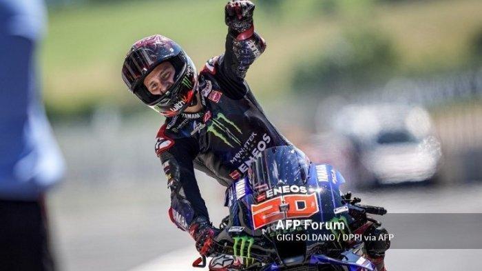 Quartararo Fokus Raih Gelar Juara Dunia MotoGP Catalunya
