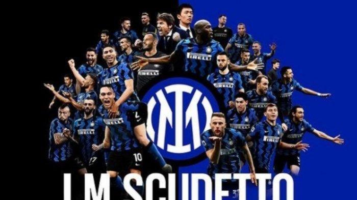 Hasil Imbang Atalanta Atas Sassuolo, Inter Milan Raih Juara Serie A