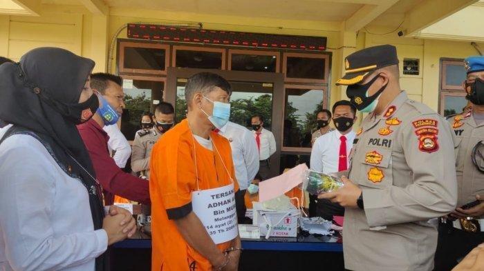 Polisi Gagalkan Peredaran Narkoba Di Prabumulih, Penjual Sayur Ditangkap Bawa 1 kilogram Sabu