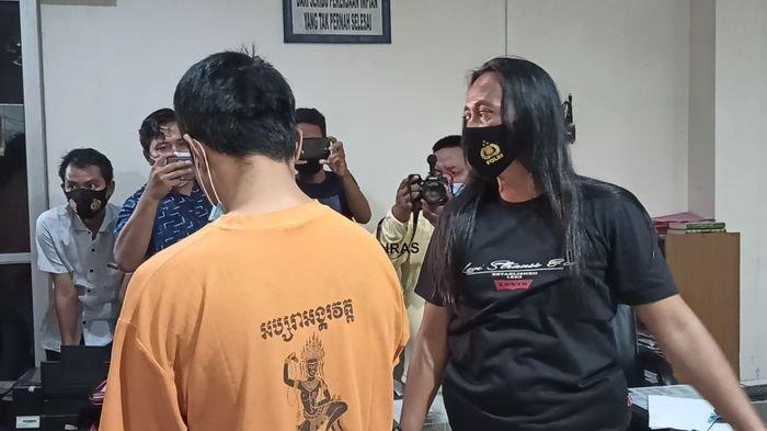 2 Pelaku Ditangkap Ditempat Berbeda, Pencuri Rumah Kontrakan Ini Tertunduk Lesu,