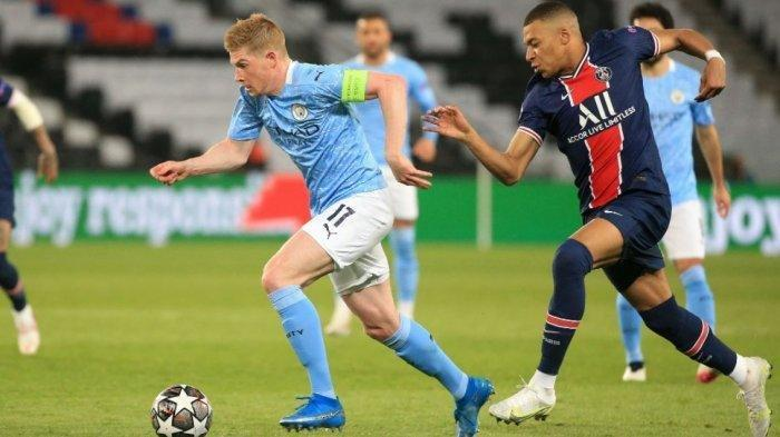 Duel 2 Tim Besar Semifinal Liga Champions, Manchester City Menjamu PSG