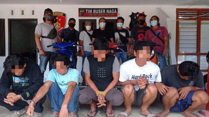 Lima Spesialis Pencuri Besi Bekas Diringkus Polisi