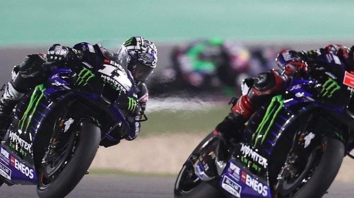 Balapan Utama Berlangsung Minggu, Quartararo dan Maverick Pimpin MotoGP Perancis,