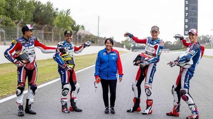 Tim Balap Mandalika ASG Team Mengaspal di Catalunya, Rencana Akan Turun Di  Moto2 dan FIM CEV Repsol
