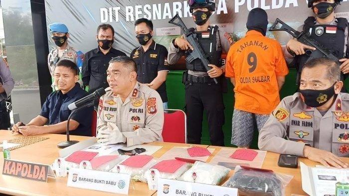 Polisi Sulbar Ungkap Modus Baru, Kelabui Petugas Menjadi Gembel Bawa Sabu Dari Palu ke Makassar