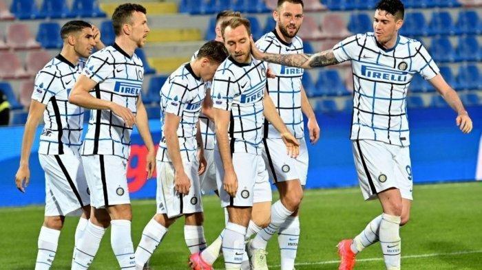 Inter Milan Kalahkan Crotone Skor 2-0, Berpeluang Raih Gelar Scudetto ke-19
