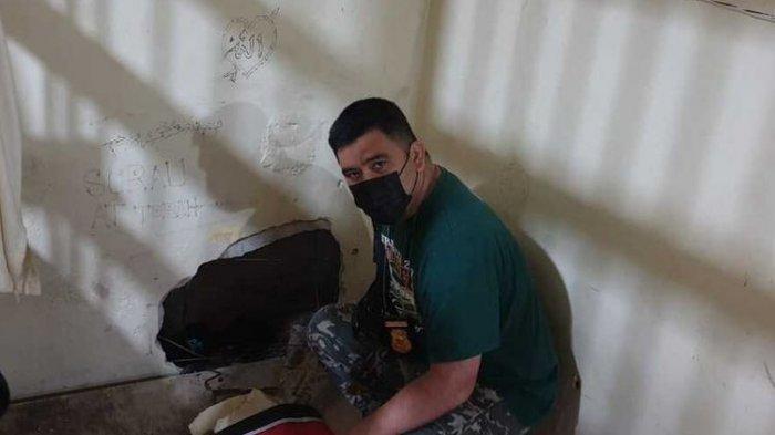 2 Tahanan Bobol Tembok Tahanan dan Kabur, Kurang Dari 12 Jam Berhasil Ditangkap