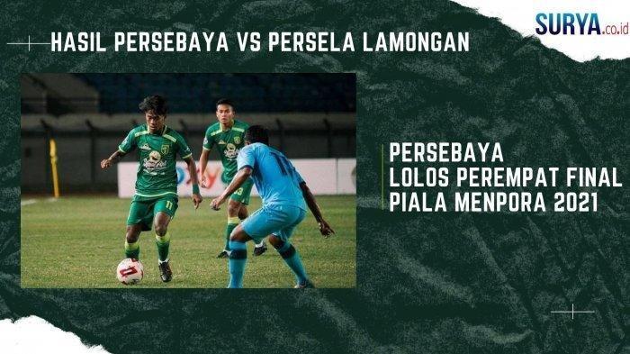 Hasil Imbang 0-0 Persela Lamongan Tahan Persebaya, 1 Poin Antar Bajul Ijo Masuk Peremfatfinal