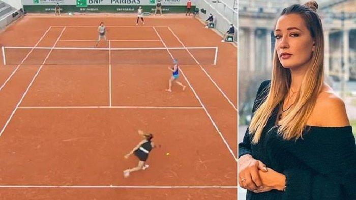 Petenis Sizikova Diduga Lakukan Pengaturan Skor, Ditangkap Polisi Usai Kejuaraan Prancis Terbuka