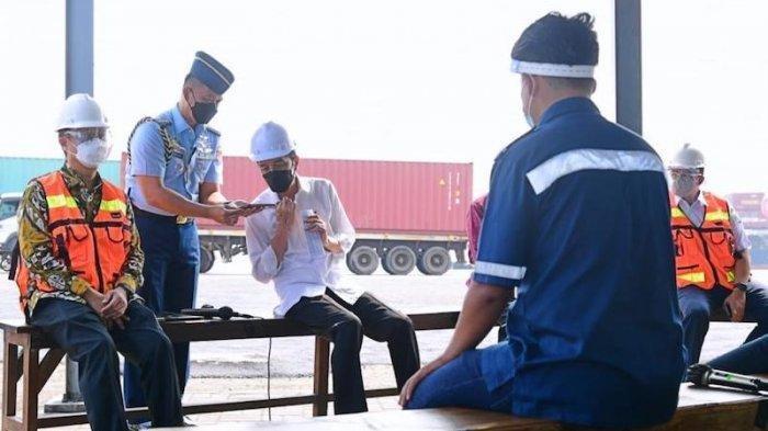 Presiden Jokowi Telpon Kapolri, Suruh Atasi Preman & Pungli di Pelabuhan, Hari Ini 49 Pelaku Dibekuk