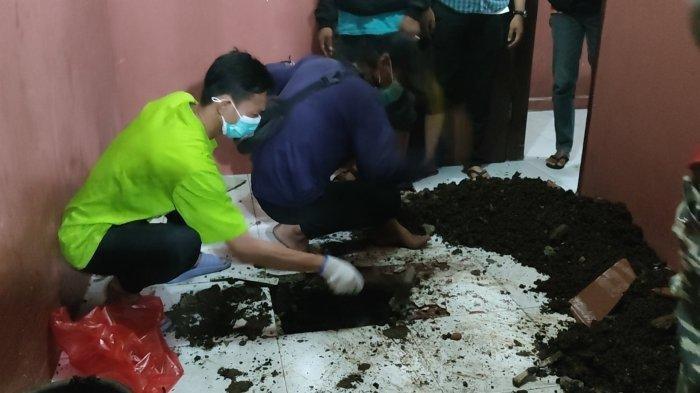 Jasad Terkubur Dalam Kontrakan diSawangan Buat Geger, Polisi Dalami Motif Kasus Pembunuhan