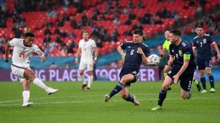 Laga Inggris Lawan Skotlandia Berjalan Ketat, Pertandingan Antar Dua Negara Tanpa Gol