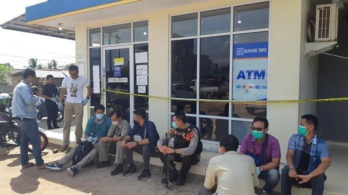 Komplotan Pencuri  Merusak  2 Mesin ATM, Diduga Uang Senilai Ratusan Juta Dibawa Kabur