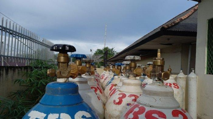 Detik-detik Tabung Gas Pasien Isoman Meledak saat Isi Ulang, Pekerja Luka Parah