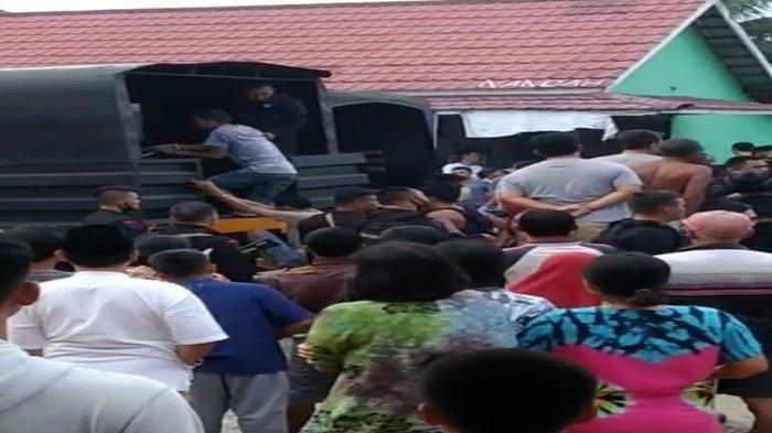 Video Berdurasi 34 Detik Beredar, Brimob Tangkap Pelaku Narkoba, Diduga Bandar Narkoba Di Muratara